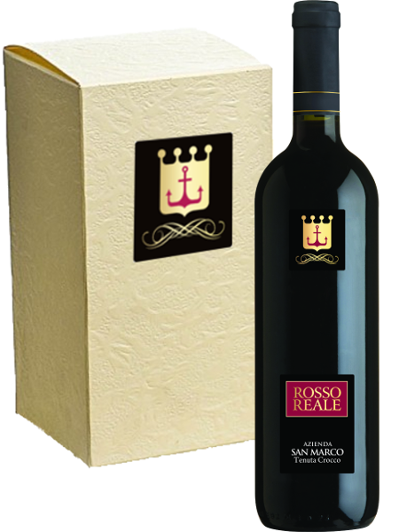 Rosso Reale (organic wine) – pack of 6 bottles