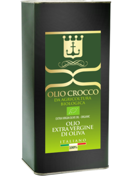 Olio Crocco (Bio extra virgin olive oil) 5 lt.